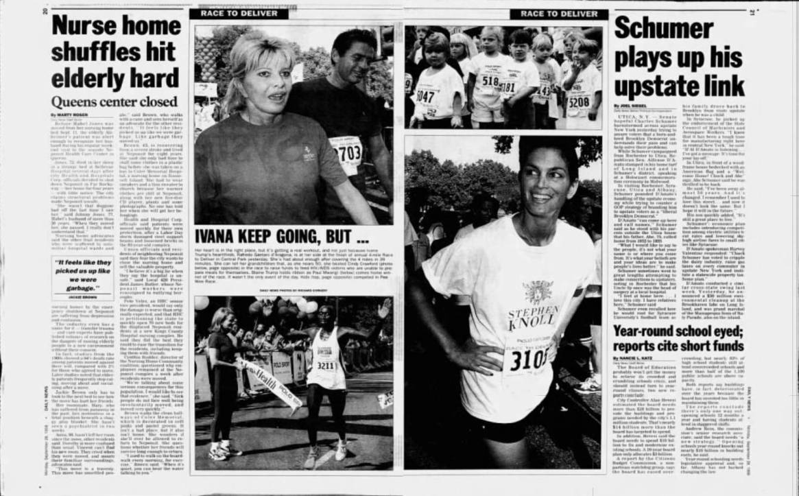 NY Daily News September 1998