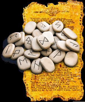 fehu amulet привличане на щастие и богатство