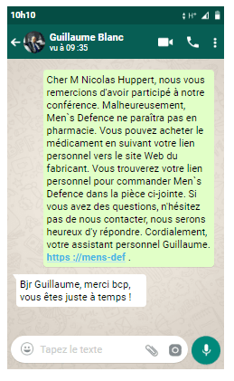 commander Men's Defence