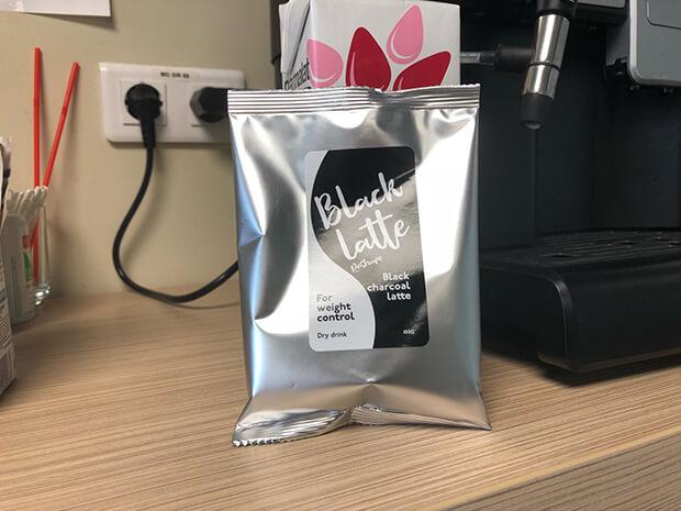 black latte di apotik