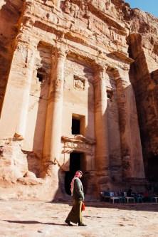 Guard at Petra.