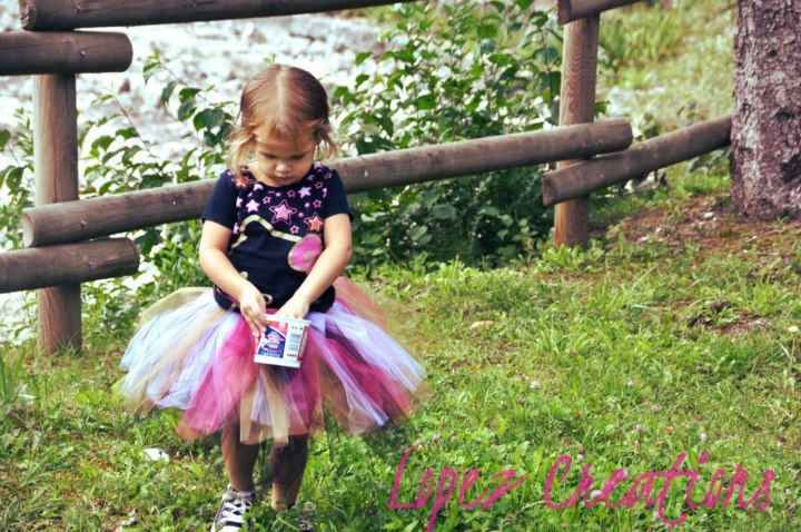 Reversible NO-SEW TuTu Tutorial (5/6)