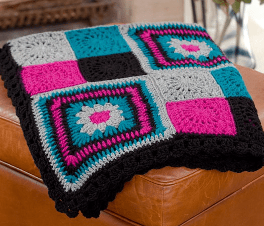 Crochet Blanket Ideas with links to Free Patterns (2/6)