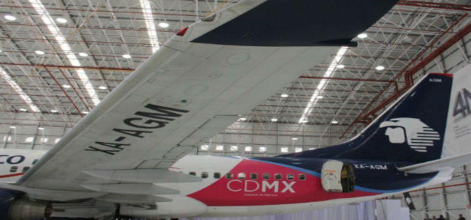 GDF y AeroMéxico en alianza para promover marca CDMX - Foto de Milenio