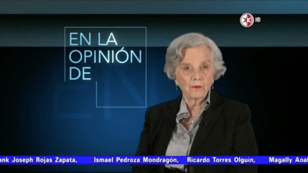 La opinión de Elena Poniatowska - La opinión de Elena Poniatowska