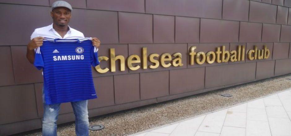 Anuncia Chelsea Football Club el regreso de Didier Drogba. - Foto de chelseafc.com