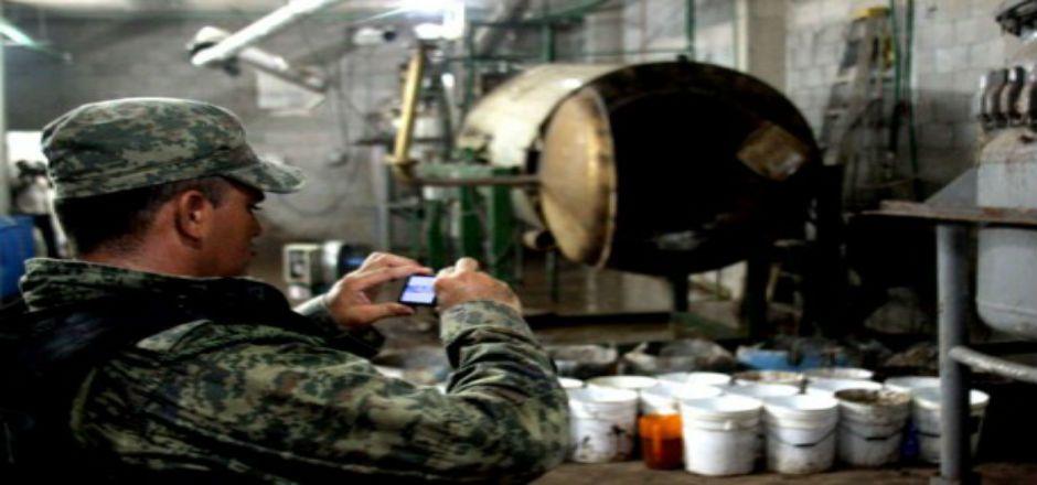 Cárteles mexicanos principales productores y distribuidores de metanfetaminas: DEA - Foto de Cuartooscuro
