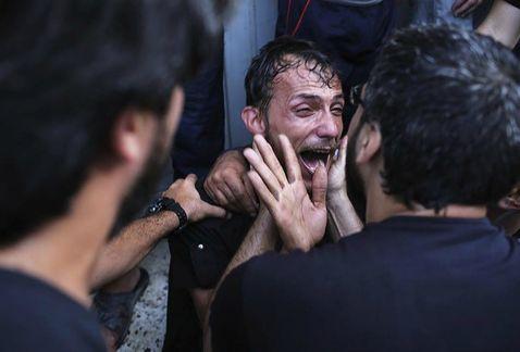 Mueren nueve niños en ataque a parque de Gaza - Foto EFE