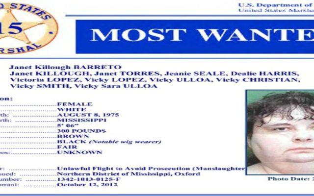Mujer más buscada es capturada en Estados Unidos - Foto de Departamento de Justicia de EE.UU.