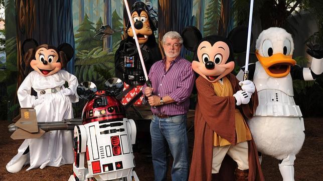 La guerra de las galaxias invadirá Disneylandia - Internet