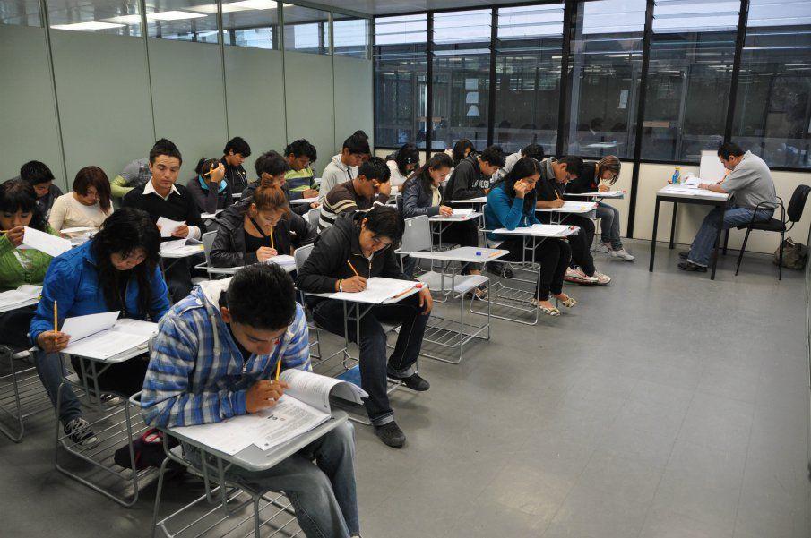 Aplicó IPN examen complementario para ingreso a nivel superior - foto de archivo