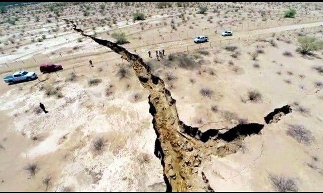 Reportan grieta de más de un kilómetro en Sonora - Daniel Sánchez