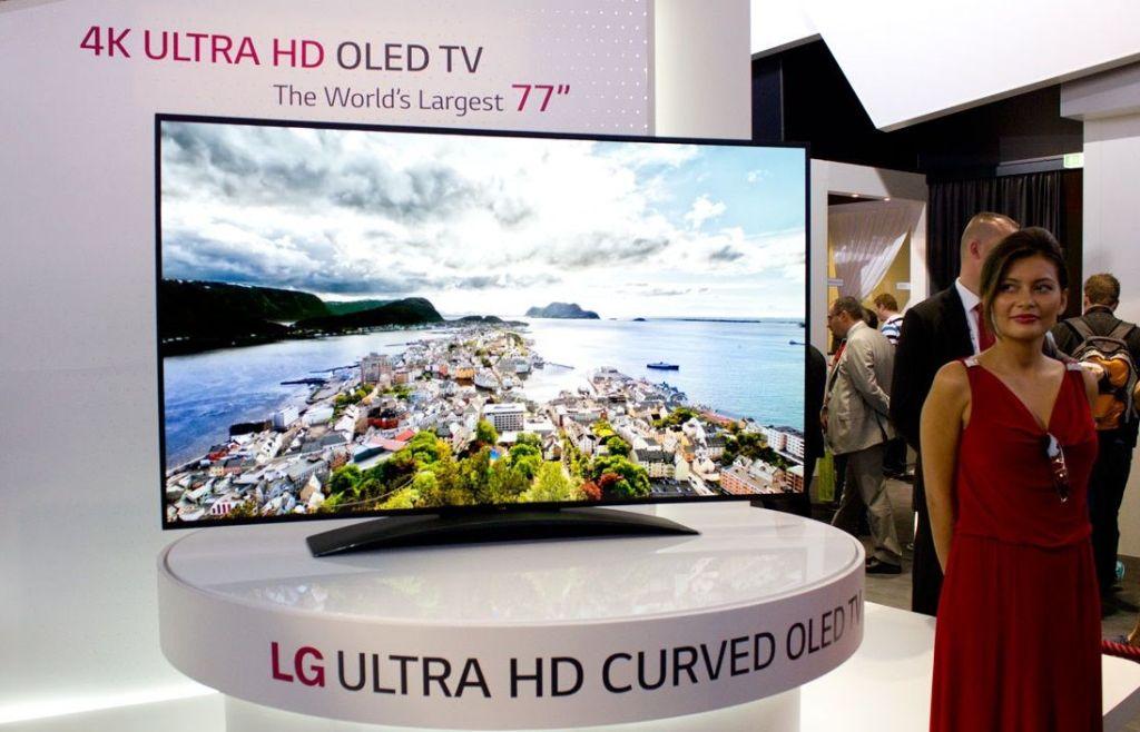 LG venderá la primer TV OLED 4K en septiembre - LG