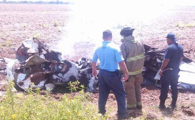 Desplome de avioneta en Sinaloa deja 5 muertos - Foto de Debate