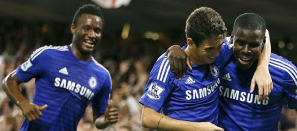 Chelsea y Manchester City avanzan en la Liga Inglesa - Foto de AP
