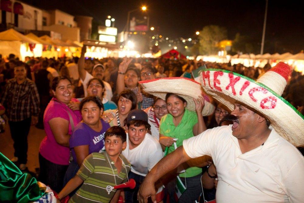Delegaciones invitan a celebrar la noche mexicana con festín musical - foto de archivo