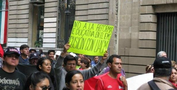 Finaliza huelga del SIEMS en el DF - Foto de Twitter