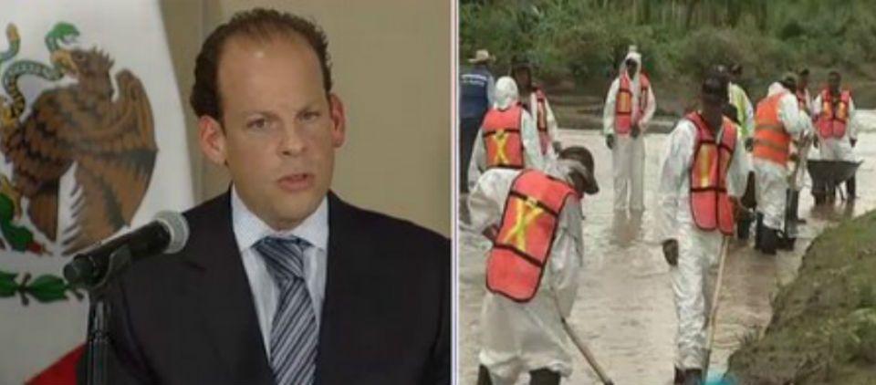 CONAGUA inicia investigación por desastre de Río Sonora - Foto de @Foro_TV