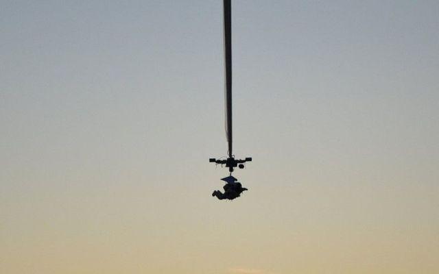 Hombre salta a 40 kilómetros de altura - Foto de PSDC