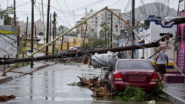 Aseguradora paga 626 mdp por daños de Odile - Foto de Archivo