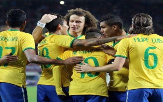 Brasil gana con apuros en Austria - Foto de AP