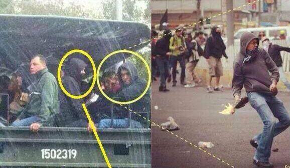 Responde el Gobierno a imágenes de presuntos infiltrados