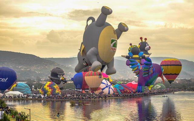 Guanajuato se alista para el Festival Internacional del Globo - Foto de FIG
