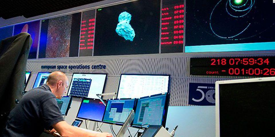 Nave espacial europea se posará en cometa - Foto de AP