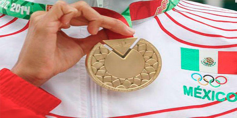 México entra a recta final de JCC como líder del medallero - Foto de CONADE