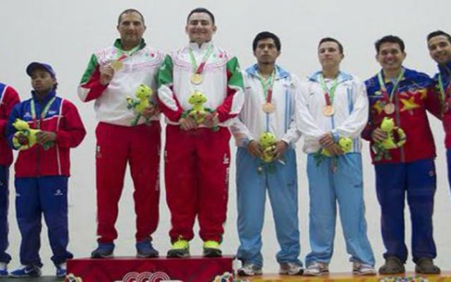 México se aleja de Cuba en medallero de JCC - Foto de CONADE