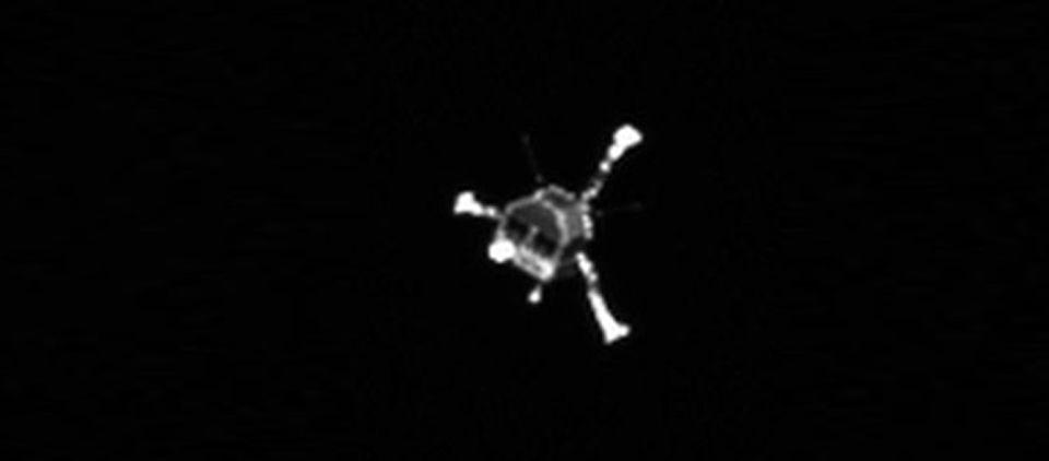 Philae completó su misión principal en el cometa: ESA - Foto de AP
