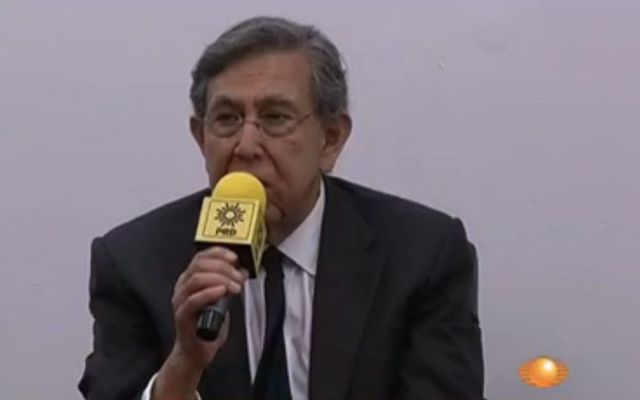 No tengo pensado regresar al PRD: Cuauhtémoc Cárdenas - Renuncia Cuauhtémoc Cárdenas al PRD