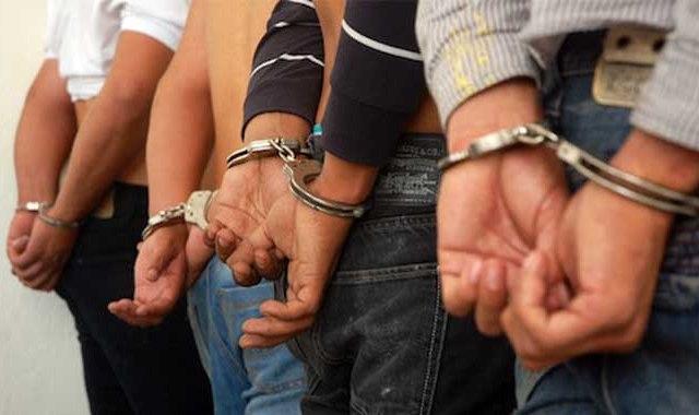 Detienen a presuntos secuestradores de directora de primaria - DETENIDO CUATRO SUJETOS POR LA POLICIA DE LARA DE LA BANDA EL PESCAITO FECHA: 31/10/2012/ FOTO: RICHARD ALEXANDER LAMEDA