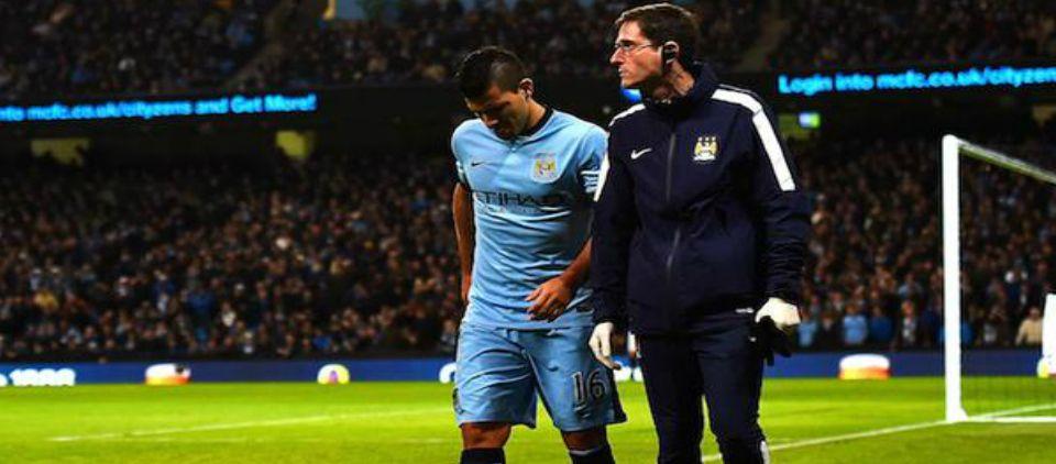 Kun Agüero es baja solo por un mes - Foto de @BarclaysLeague