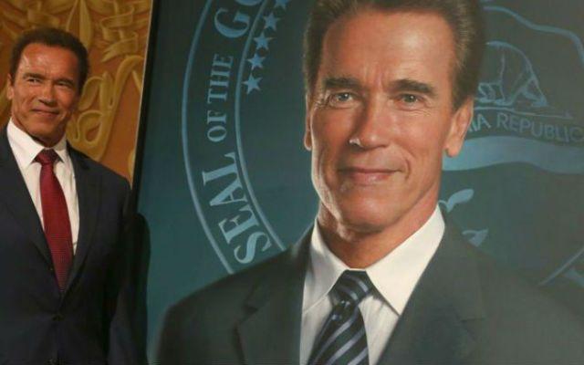 Exhiben retrato de Schwarzenegger en California - Foto de El País