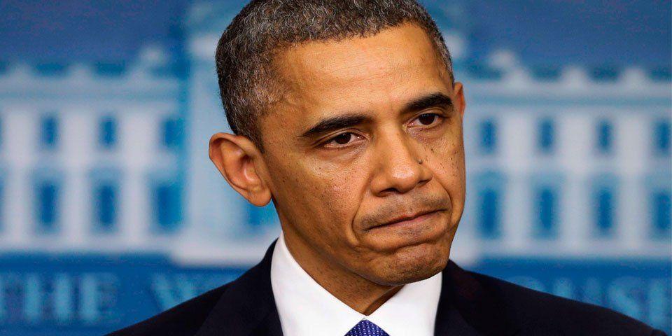 Condena Obama asesinatos de policías - Foto de Bloomberg