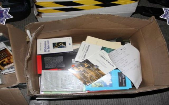 Detienen a ladrones de libros en la FIL - Foto de Policía de Guadalajara