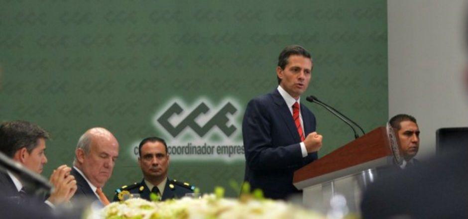 Respaldan empresarios medidas de seguridad del Ejecutivo - Foto de Presidencia de la República