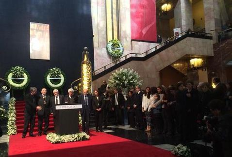 Homenaje a Vicente Leñero en Bellas Artes - @Conaculta