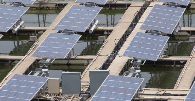 Japón construirá la planta solar flotante más grande del mundo - Internet