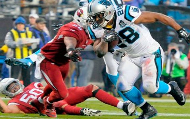 Carolina gana a Arizona y avanza en los playoffs - Foto de AP
