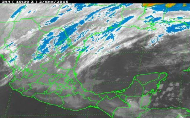 Bajas temperaturas, lluvias y nevadas seguirán en territorio mexicano - Foto de Servicio Meteorológico Nacional