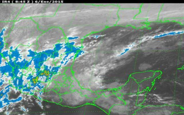 Ambiente frío y evento de norte se prevén en algunas partes del país - Foto de Servicio Meteorológico Nacional