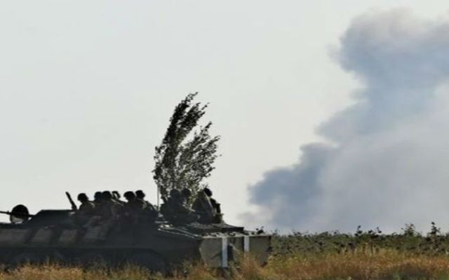 Ataque en Mariupol deja 10 muertos - cohetes sobre mariupol_bbc