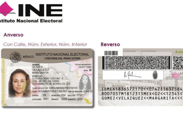Credencial del INE sin 18 o vigencia no servirá a partir del 1 de enero: IEEM - Credencial para votar del INE