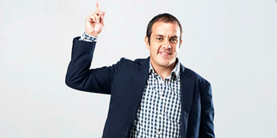 Cuauhtémoc se registra como precandidato del PSD - Cuauhtémoc Blanco