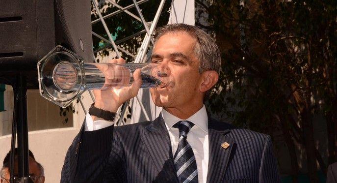 GDF invertirá 300 mdp en potabilizar agua de Iztapalapa - Miguel Ángel Mancera, jefe de Gobierno del DF
