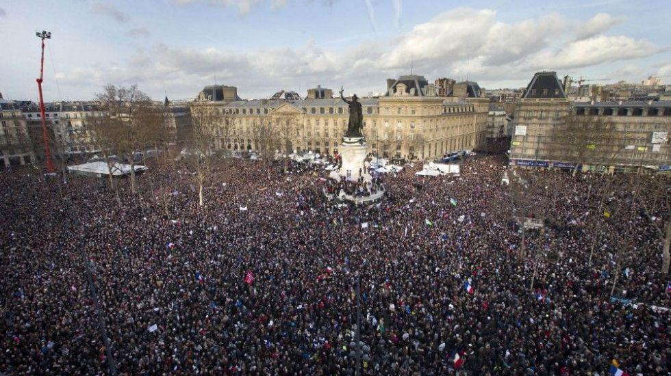 Histórica marcha en París contra el terrorismo