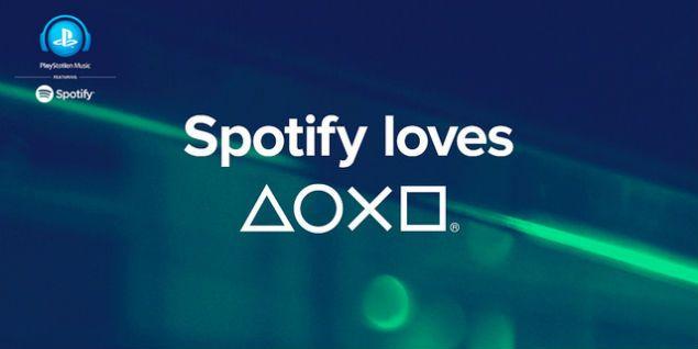 Spotify se une a PlayStation - spotify sony