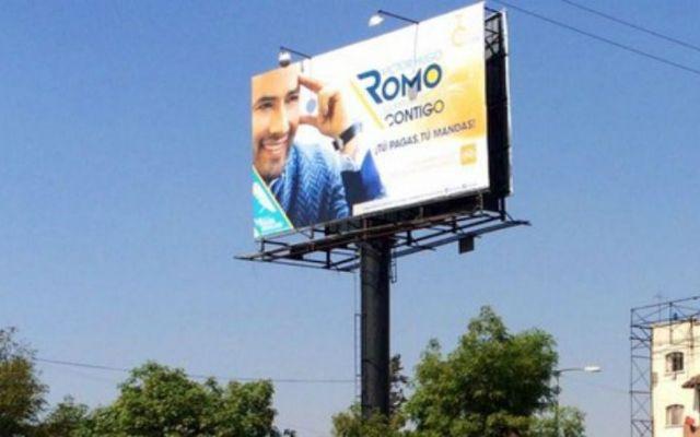 Demandarán a delegados por supuesta violación a ley de publicidad - Propaganda electoral de David Razu